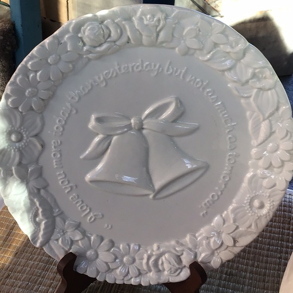 """""""I love you more today..."""" Collector's Plate"""